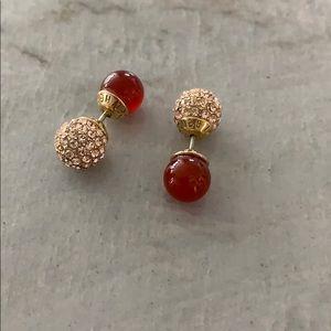 Henri Bendel stud earrings